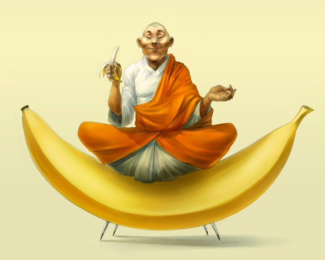 banana ooooom!