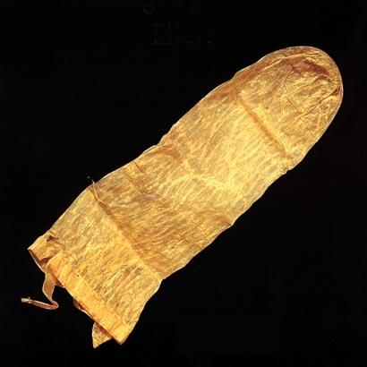 This &amp; That, Ceci et Cela  World&#39;s oldest condom